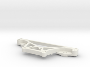 RC10DS Rear shock tower in White Strong & Flexible