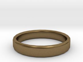 Wedding Ring Size 9 in Natural Bronze