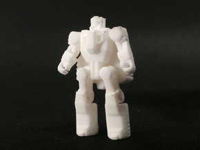 DOTM Voyager Skyhammer Assault kit Headmaster in White Strong & Flexible