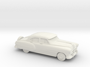 1/87 1951 Pontiac Chieftan Sedan in White Strong & Flexible