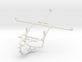 Controller mount for PS4 & Sony Xperia Z Ultra in White Natural Versatile Plastic