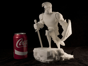 TheKnight (Large) in White Natural Versatile Plastic