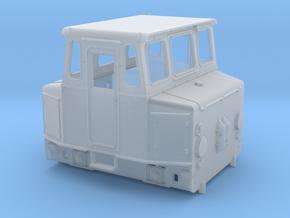 """Akkuschlepper Spur 0 Variante """"Runde Haube"""" in Smooth Fine Detail Plastic"""