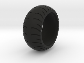 Chopper Rear Tire Ring Size 11 in Black Natural Versatile Plastic
