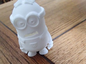 Minion in White Natural Versatile Plastic
