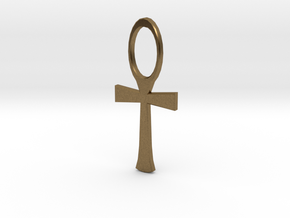 Ankh 1 in Natural Bronze