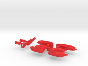 TF4: AOE Beevolution Kit v3.0 in Red Strong & Flexible Polished