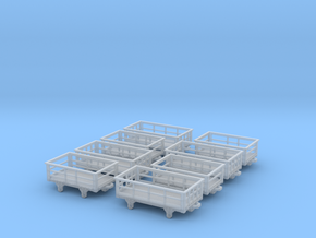 009 Slate Wagons assorted in Smooth Fine Detail Plastic