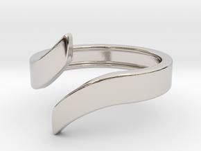 Open Design Ring (22mm / 0.86inch inner diameter) in Platinum
