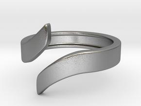 Open Design Ring (22mm / 0.86inch inner diameter) in Natural Silver