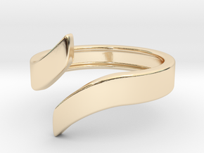 Open Design Ring (25mm / 0.98inch inner diameter) in 14K Gold