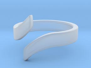 Open Design Ring (30mm / 1.18inch inner diameter) in Smooth Fine Detail Plastic