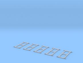Krankentragegestell Für DL(alt) 5Stck in Frosted Ultra Detail