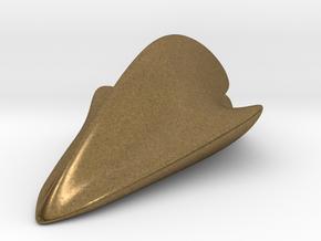 """Space Shark""  Pendant in Natural Bronze"