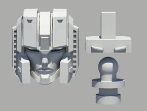 s_head in Smooth Fine Detail Plastic