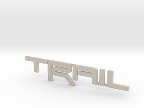 Trail Emblem Revision 02 in Natural Sandstone