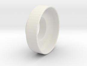 Small Handwheel Spit Throttle in White Strong & Flexible