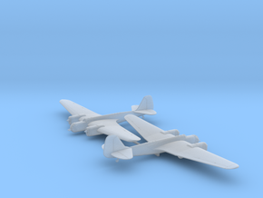 Tupolev SB 2 M-100 in Smooth Fine Detail Plastic: 1:200