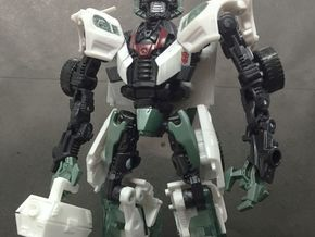 TF4: AOE Jackie the box tools kit for Wheeljack in White Natural Versatile Plastic
