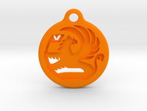 Vauxhaull in Orange Processed Versatile Plastic