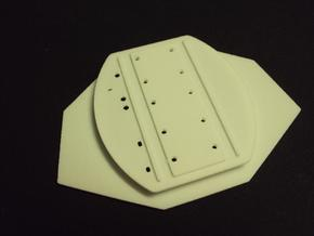 03-Connection Between Aft And Mid Sections in White Natural Versatile Plastic
