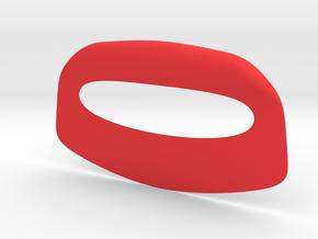 Pizza cutter in Red Processed Versatile Plastic