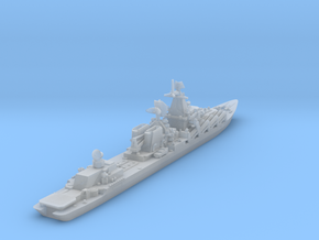 Slava Soviet Missile Cruiser - 1/1800 and smaller in Smooth Fine Detail Plastic: 1:1800
