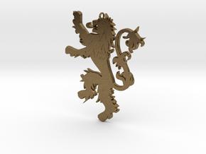 Lannister Pendant in Natural Bronze