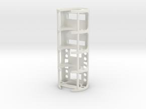GCM110-01-NB - Nano Biscotte + PEX + 18650 cell in White Natural Versatile Plastic