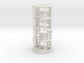 GCM124-01-NB - Nano Biscotte + 18650 cell in White Natural Versatile Plastic