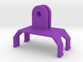 Sony Live-View Remote GoPro Clip in Purple Processed Versatile Plastic