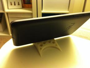 Nexus 7 mini stand in White Strong & Flexible