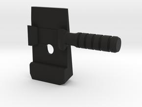5.1 Racker Combo in Black Natural Versatile Plastic