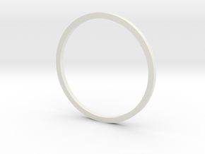 Holocron Window Ring in White Strong & Flexible