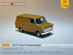 Ford Transit Kastenwagen (TT 1:120) in Smooth Fine Detail Plastic