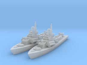 1/1800 Soviet Nanuchka Missile corvette in Smooth Fine Detail Plastic