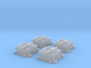 1/24 Carter 4 BBL Carburetors 4 Pack in Frosted Ultra Detail