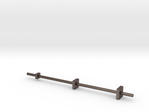 Le Chef replacement bar in Polished Bronzed Silver Steel