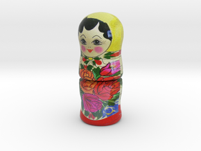 Russian Matryoshka - Piece 1 / 7 in Full Color Sandstone