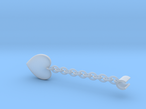 Earpod Earrings | Hearts ♡  in Smooth Fine Detail Plastic