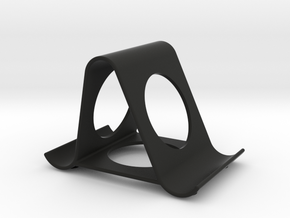 iPhone stand in Black Natural Versatile Plastic