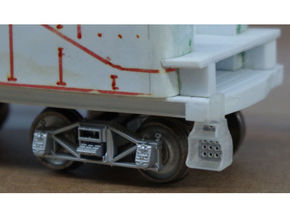 40x Southern Ry. Tender Steps - HO in Frosted Ultra Detail