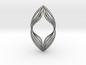 sWINGS Duo, Pendant. Pure Elegance. Perfect Comfor in Natural Silver