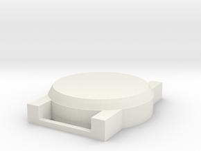 Watch Model in White Natural Versatile Plastic