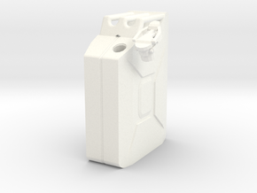 NATO 20L Jerry Can 1/10 Scale in White Processed Versatile Plastic