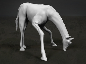 Giraffe 1:32 Drinking Male in White Strong & Flexible