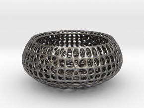 Potpourri Dish (009) in Polished Nickel Steel