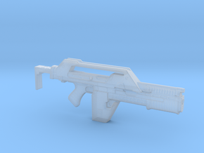 Pulse Rifle 1:24 in Smooth Fine Detail Plastic