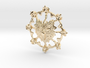 Eagle 001 in 14k Gold Plated Brass