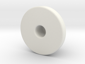 iStably Pro Ceramic - Pan Bearing Cap in White Natural Versatile Plastic